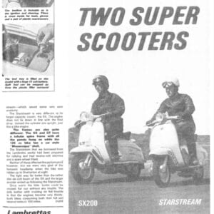 Lambretta SX200 and Starstream