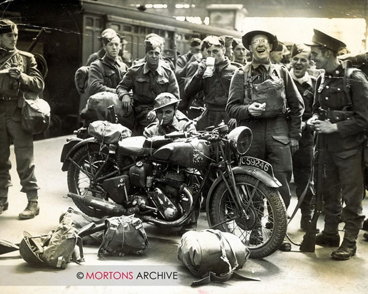 July 1940; men from the second BEF, back after the evacuation from France.
