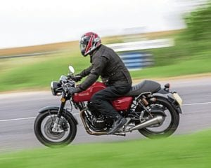 We test the Herald Cafe 400.