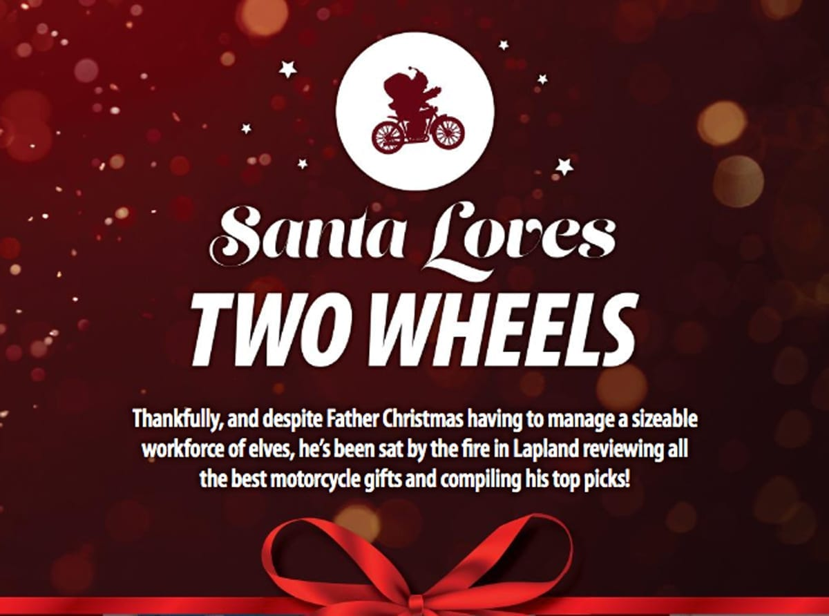 Motorcycle Christmas gift guide