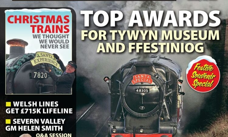 We explore the Christmas trains we thought we'd never see again in Issue 275 of Heritage Railway magazine.