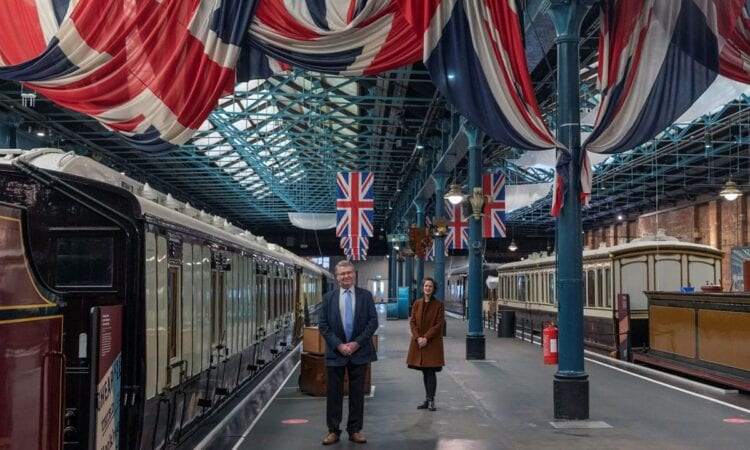 The National Railway Museum's Station Hall is set to receive a £500,000 refurbishment, thanks to the Friends of the National Railway Museum.