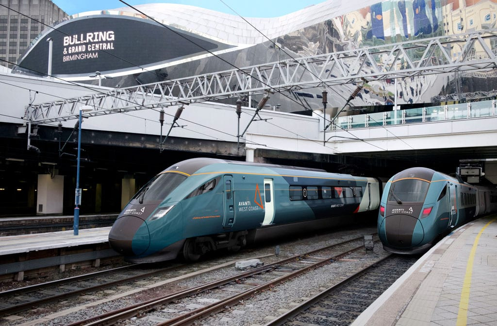 Hitachi to build 23 trains for Avanti West Coast in £350m contract