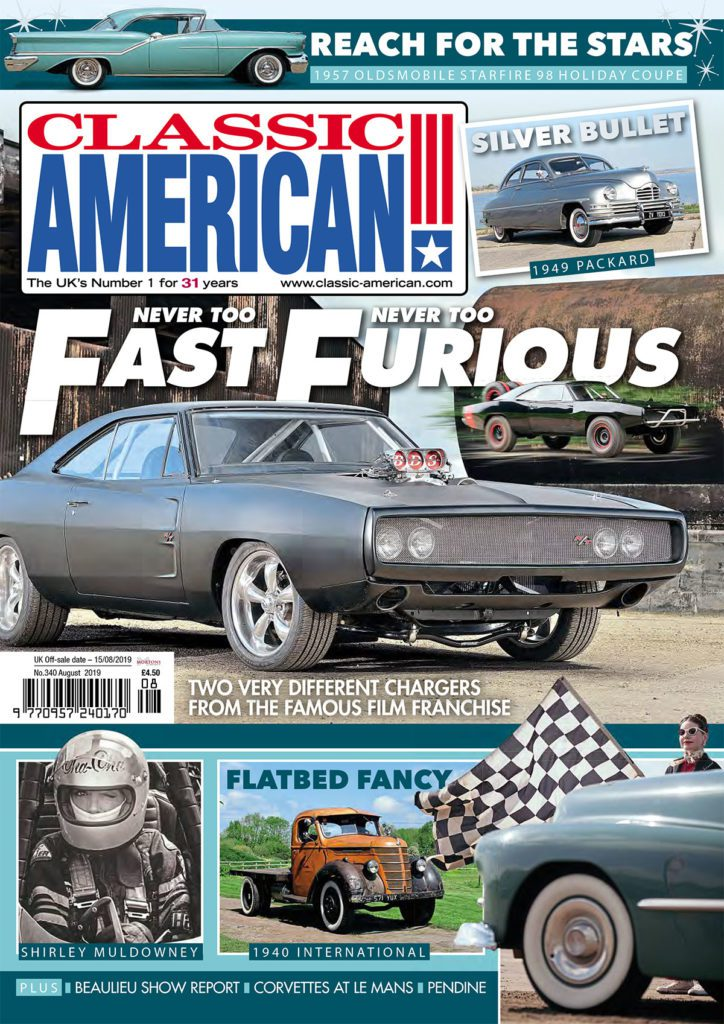 Classic American August cover