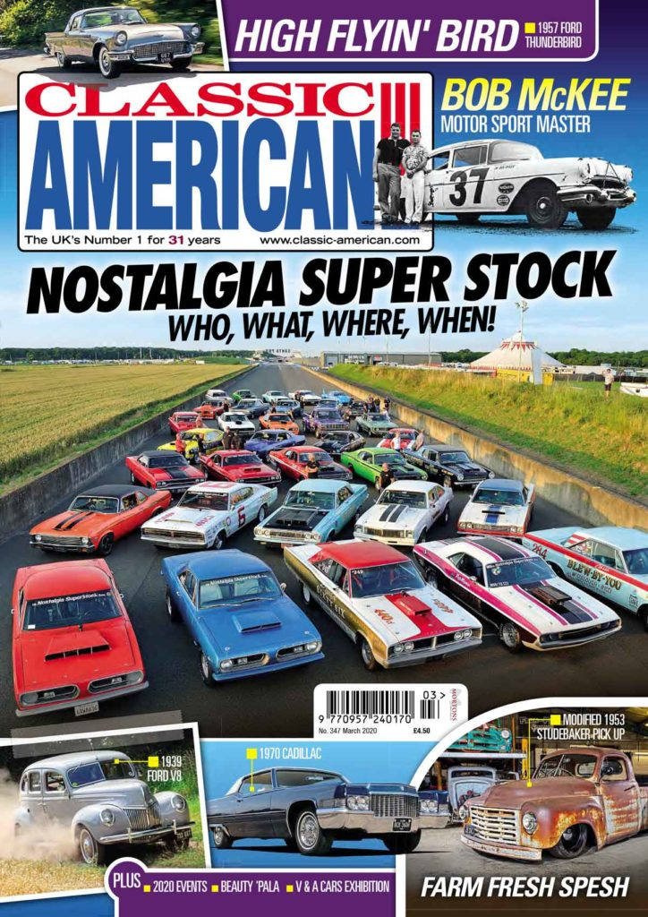 Inside the March issue of Classic American...