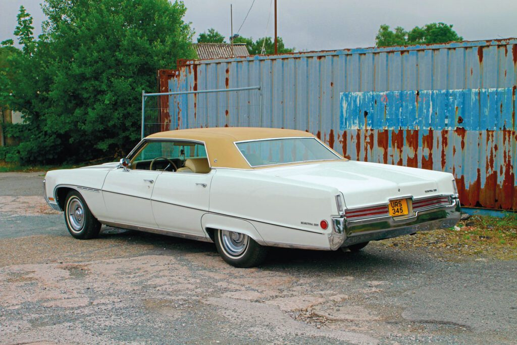 Rear view of 1970 Buick Electra 225