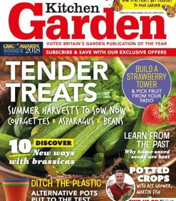 Kitchen Garden April 2019 issue out now!