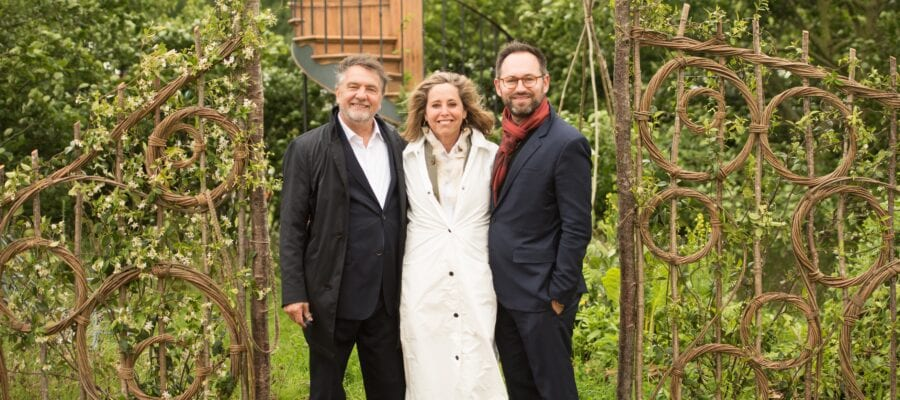 Belmond Enchanted Gardens wins Gold at new RHS Chatsworth Flower Show