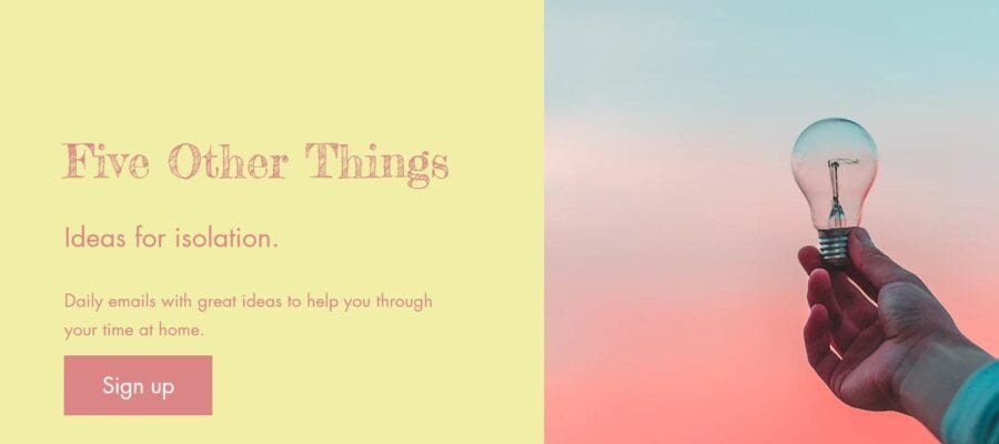 Five other things