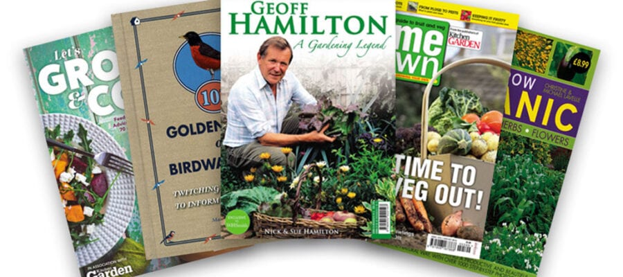 Five fantastic garden reads for your bank holiday weekend!
