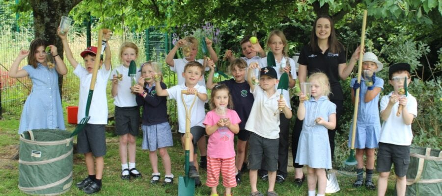 Dorset School Wins Countrywide Gardening Competition