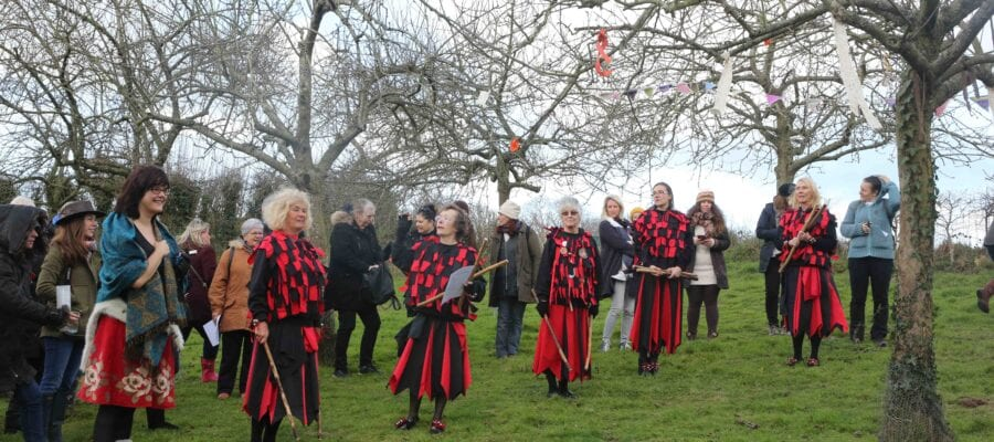 LET'S ALL GO A WASSAILING