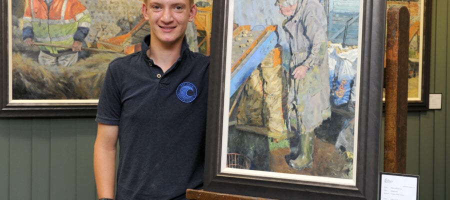 Teen art sensation to have a brush with RHS Chelsea Flower Show