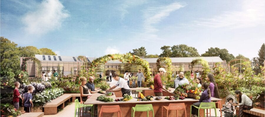 New centre for horticulture