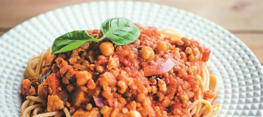 Carrot & Turkey Bolognese
