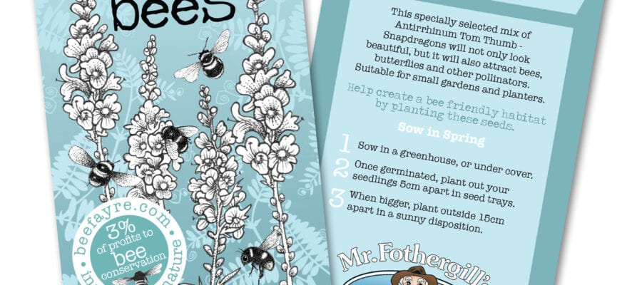 The great 'Seeds for Bees' giveaway: thousands of seed packets to be given away