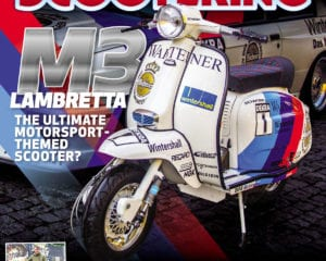 What's inside the April issue of Scootering?