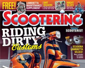Scootering Magazine Cover - August 2021