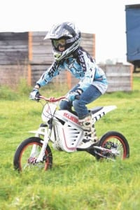 Max Potter, future MX star with the Kuberb Cross