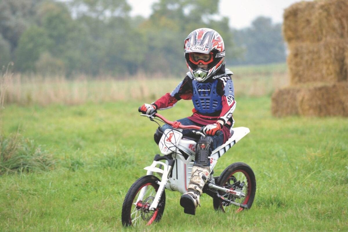 Electric bikes give kids a great starting point