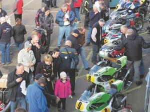 Real Motorsport ensured a healthy line-up of classic race bikes