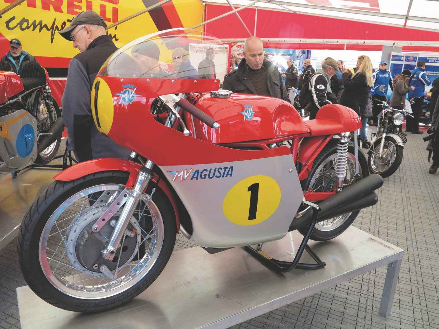 No expense spared for the Mallory Open Day. MV 500-3…