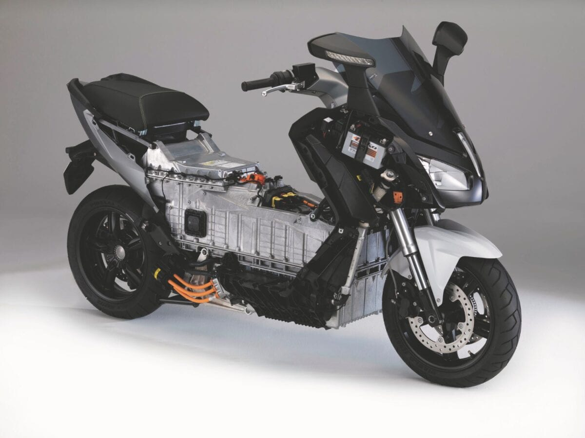 Machines like the BMW C Evolution could become a lot more practical if the technology works