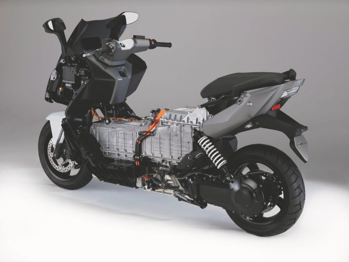 BMW C Evolution electric scooter021