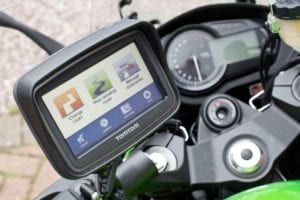 The TomTom Rider offers brilliant features for bikers