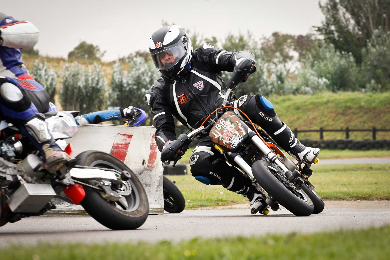 You'll find all ages racing – this guy's 61
