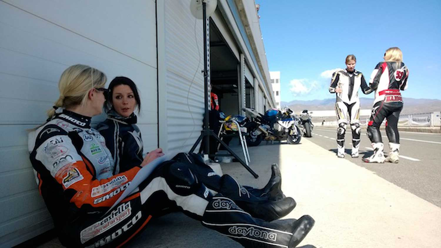 Costello-gives-some-advice-while-coaching-at-the-Almeria-FIM-training-camp-earlier-this-year.