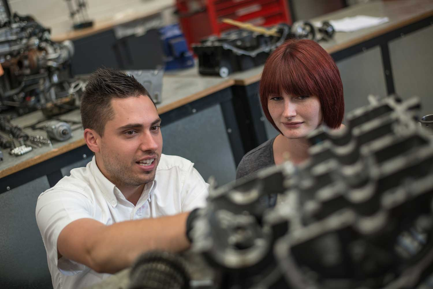 motorcycle mechanic apprenticeship patient and detailed training