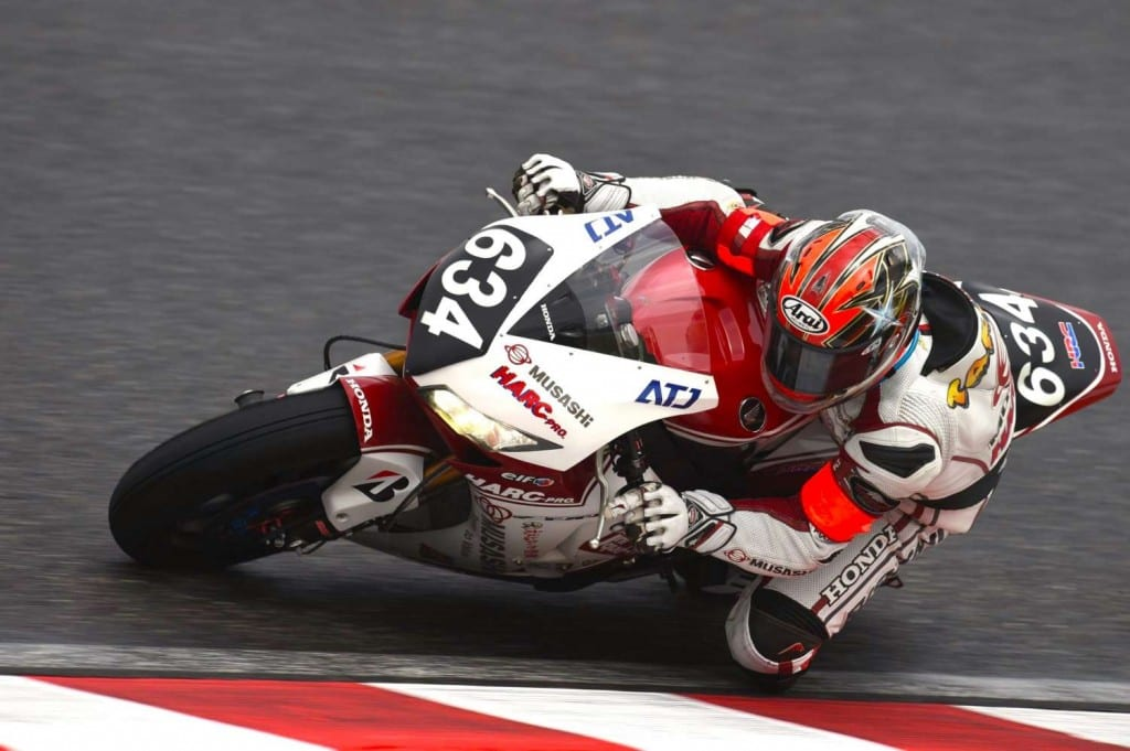 Takumi Takahashi on bike