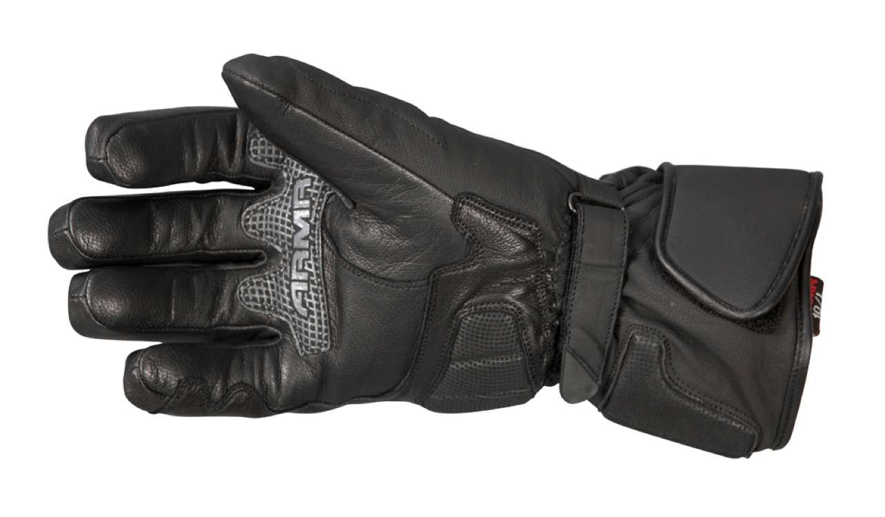ARMR Moto leather gloves palm