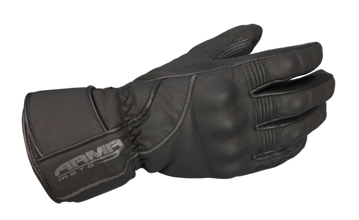 ARMR Moto winter gloves leather