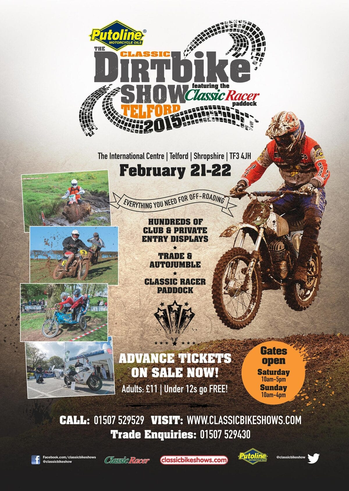The-Putoline-Classic-Dirt-Bike-Show-Poster
