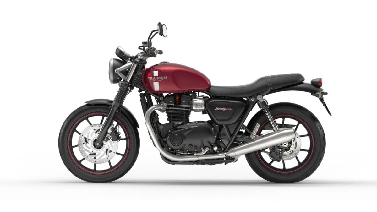 Street Twin Cranberry Red Leftlores