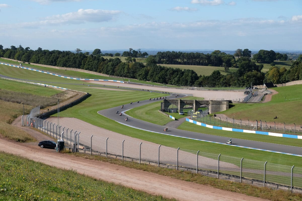 Campers will be based on the infield at Donington for the first time