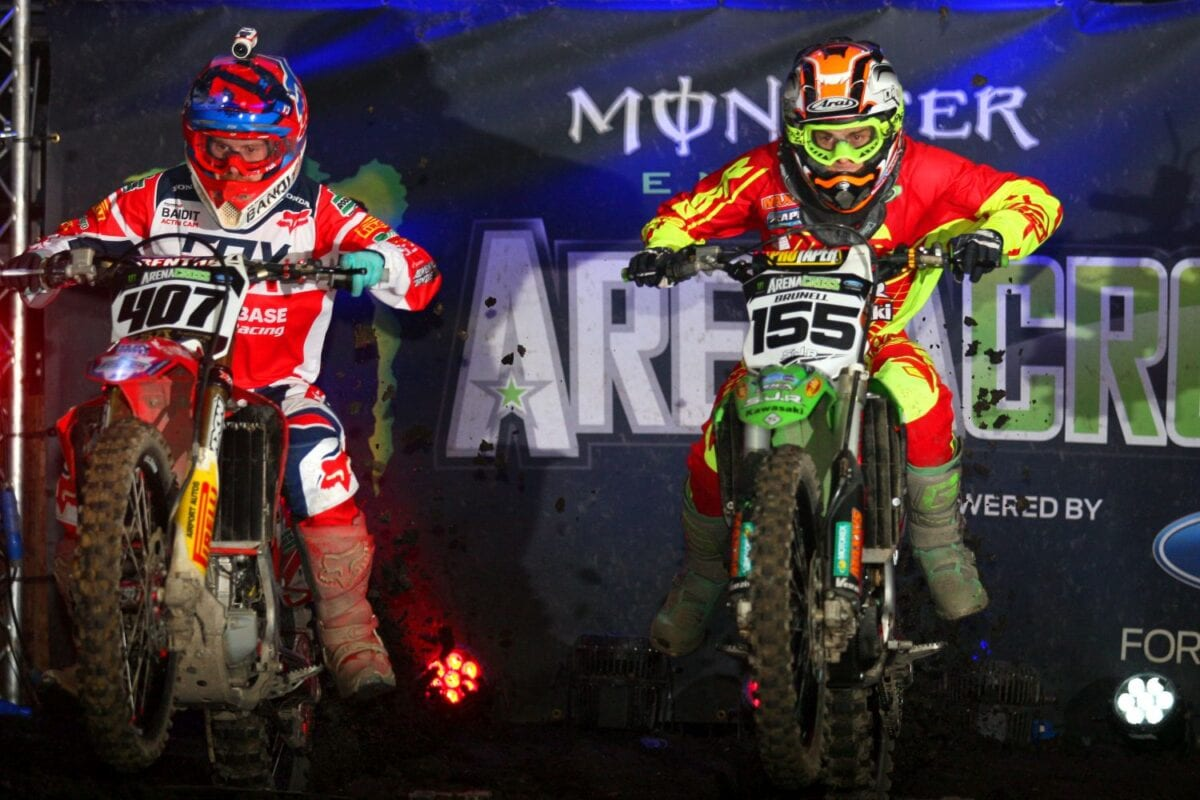 Brits Adam Chatfield #407 and Jack Brunell #155 will be flat out to get on the podiumlores