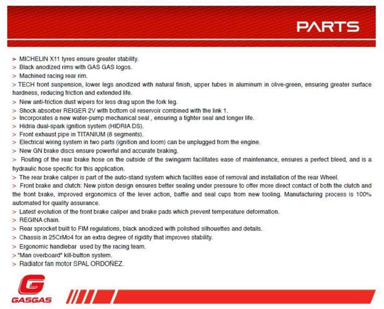 2017-gas-gas-txt-racing-300-technical-specifications