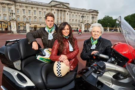 'The Duke and Duchess of Cambridge' and 'The Queen' are enjoying the benefits of Ride to Work Week Photo credit: Carole Nash