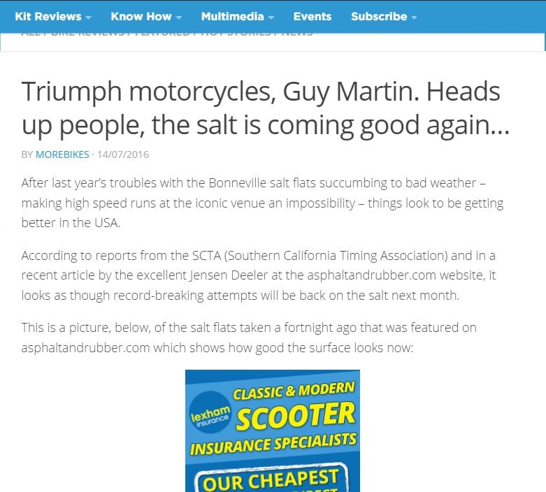 2016-08-01 12_05_57-Triumph motorcycles, Guy Martin. Heads up people, the salt is coming good again.