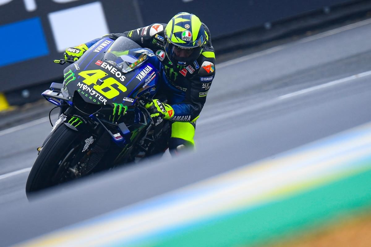 Rossi says that it's a lack of rear grip which has been his biggest problem on the Yamaha in MotoGP throughout 2019.