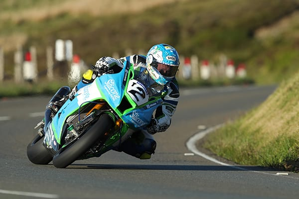 Dean Harrison in action at the 2019 Isle of Man TT event. He'll be in action on The Island again next year.