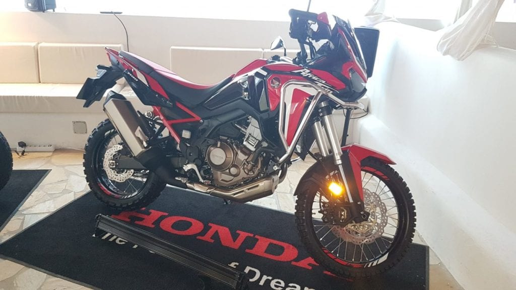 First impressions of Honda's new Africa Twin Adventure Sports. Photo: Ross Mowbray