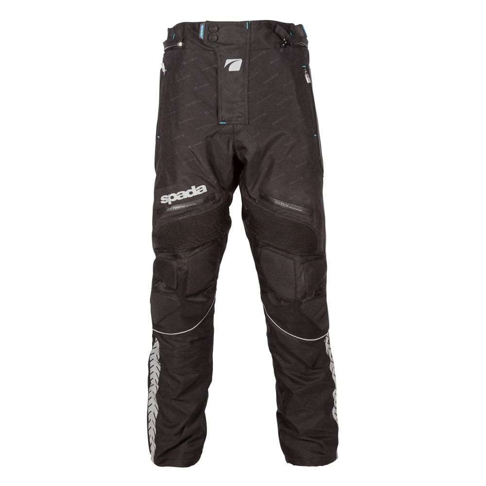 Front view of the Spada Metro motorcycle winter trousers.