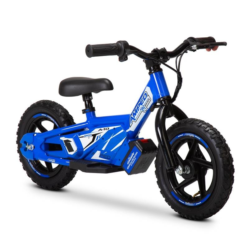 The AMPED A10 electric balance bike is an easy-going motorcycle for small children. And the battery-powered bike is on sale in the UK now.