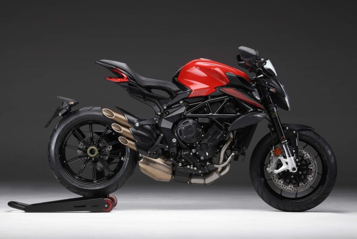 This is the Dragster 800 from MV Agusta, part of the Italian company's 2020 motorcycle model year line-up.