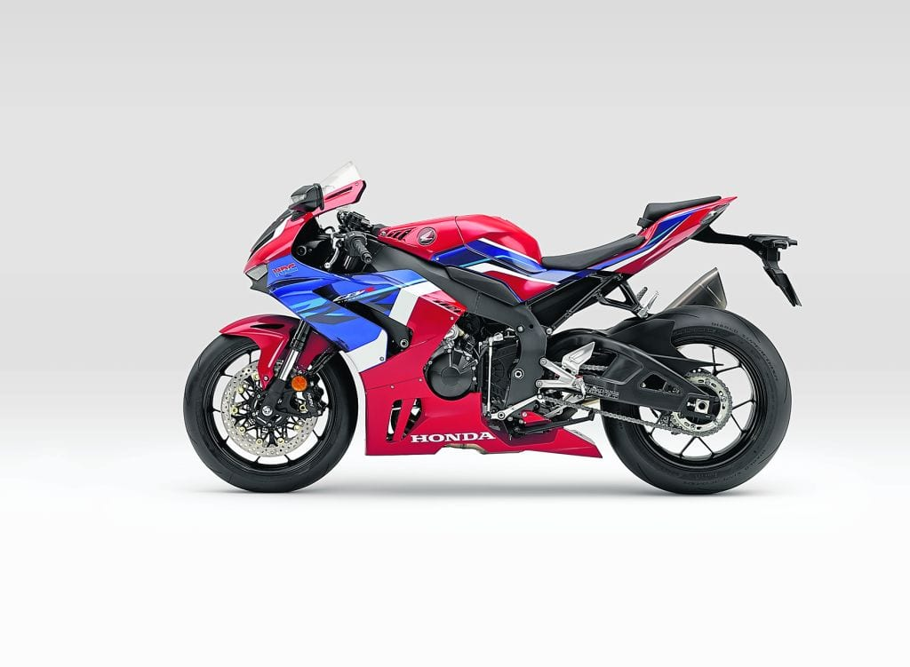 You can have the 2020 Honda Fireblade in the red, white and blue scheme like this...
