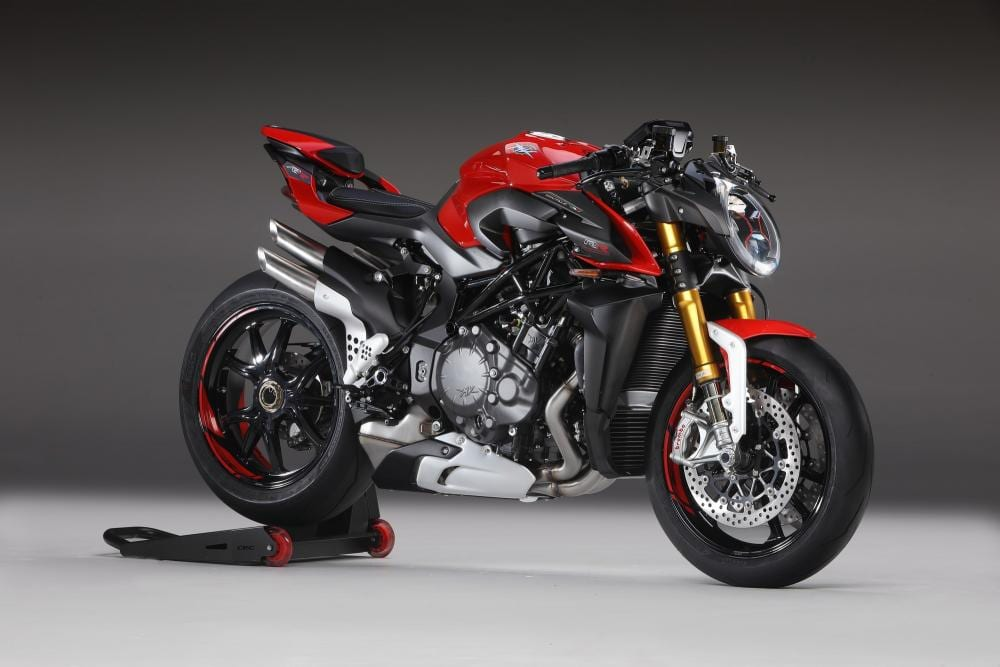 This is the 2020 Brutale 1000RR. 206bhp on tap with this motorcycle for next year.